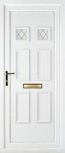 Ashley 2 Diamond Lead UPVC Door