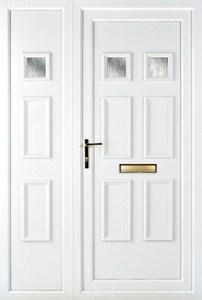 Ashley UPVC Door with Side Panel Designs