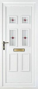Ashley 4 PLA 123 UPVC Door