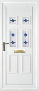 Ashley 4 PLA 124 UPVC Door