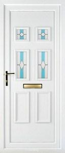 Ashley 4 PLA 43 UPVC Door