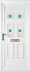 Ashley 4 PLA 45 UPVC Door