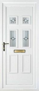 Ashley 4 PLA 74 UPVC Door