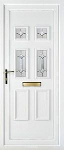 Ashley 4 PLA 85 UPVC Door