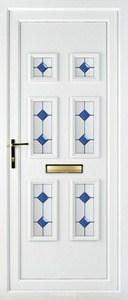 Ashley 6 PLA 124 UPVC Door