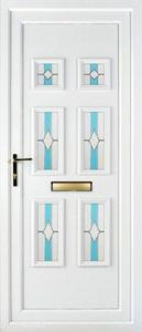 Ashley 6 PLA 43 UPVC Door