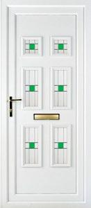 Ashley 6 PLA 45 UPVC Door