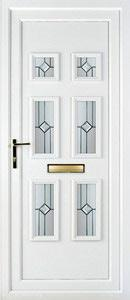 Ashley 6 PLA 74 UPVC Door