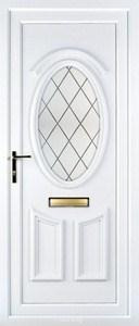 Lauren Diamond Lead UPVC Door