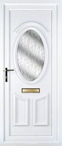 Lauren Obscure UPVC Door