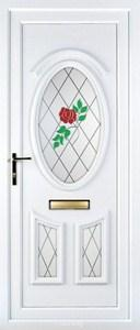 Lauren 3 PLA 133 UPVC Door