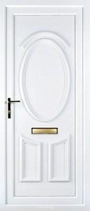 Lauren Solid UPVC Door