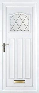 Lloyd Diamond Lead UPVC Door