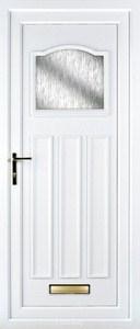 Lloyd Obscure UPVC Door