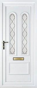 Morgan Diamond Lead UPVC Door
