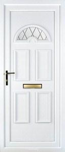 Muir 1 Diamond Lead UPVC Door