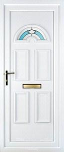 Muir 1 PLA 43 UPVC Door