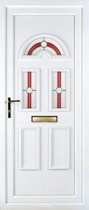 Muir 3 PLA 44 UPVC Door