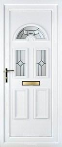 Muir 3 PLA 73-74 UPVC Door