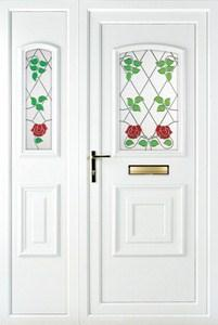 Quant PLA 30 UPVC Door with Side Panel