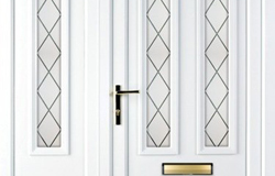 UPVC Doors with Side Panels
