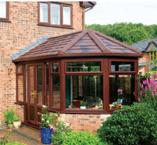 Victorian Conservatory with Solid Warm Roof